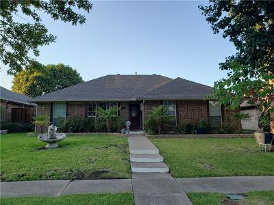 Carrollton Single Family Home Active Option Contract: 1601 Barclay Drive