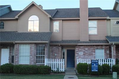 Garland Townhouse For Sale: 3834 Pickett Place