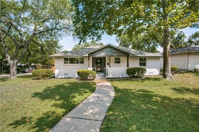 Dallas Single Family Home For Sale: 3806 Periwinkle Drive