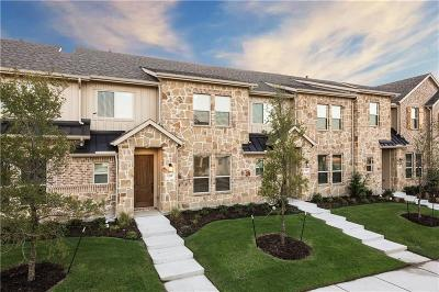 McKinney Townhouse For Sale: 1209 Pebblebrook Drive