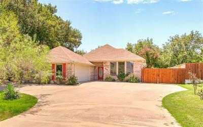 Granbury Single Family Home Active Option Contract: 7001 Westover Drive
