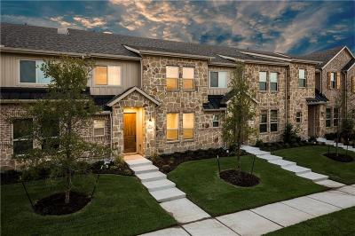 McKinney Townhouse For Sale: 1201 Pebblebrook Drive