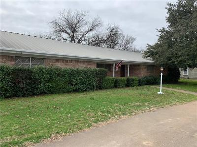 Archer County, Baylor County, Clay County, Jack County, Throckmorton County, Wichita County, Wise County Single Family Home For Sale: 901 W Union Street