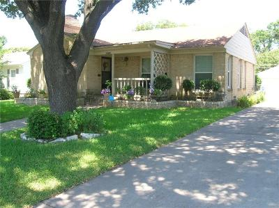Dallas Single Family Home For Sale: 5009 Wren Way