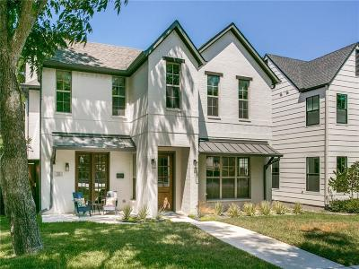 Dallas Single Family Home For Sale: 7123 Coronado Avenue