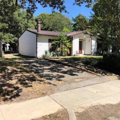 Irving Single Family Home For Sale: 2511 W 5th Street