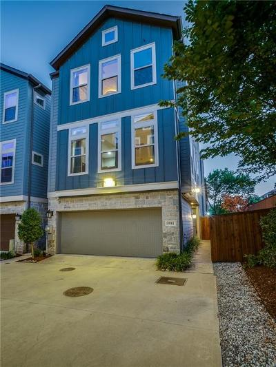 Dallas Townhouse For Sale: 5981 Morning Star Place