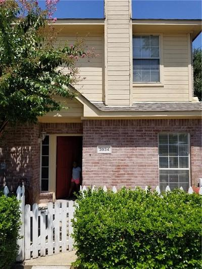 Garland Townhouse Active Option Contract: 3934 Pickett Place