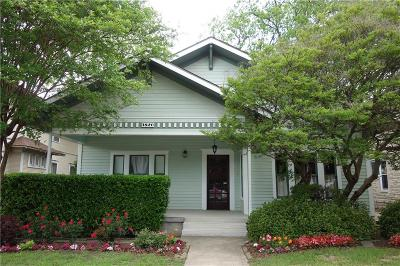 Tarrant County Single Family Home For Sale: 1820 College Avenue
