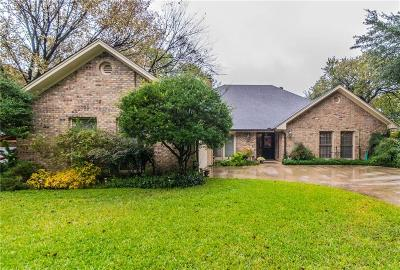 Tarrant County Single Family Home For Sale: 4500 Willow Bend Drive