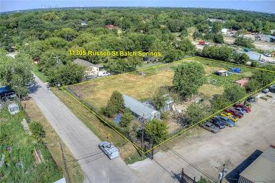 Dallas County, Collin County, Rockwall County, Ellis County, Tarrant County, Denton County, Grayson County Commercial For Sale: 11305 Russell Street