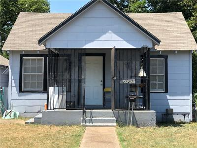 Oak Cliff Single Family Home For Sale: 2727 Marjorie Avenue