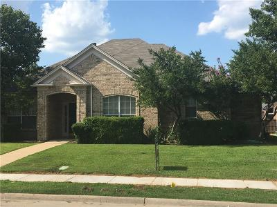 Lewisville Residential Lease For Lease: 1407 Summertime Trail