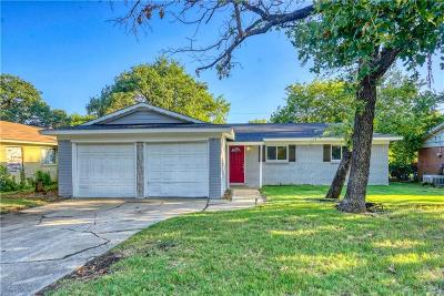 Dallas County, Denton County, Collin County, Cooke County, Grayson County, Jack County, Johnson County, Palo Pinto County, Parker County, Tarrant County, Wise County Single Family Home For Sale: 4821 Alandale Drive