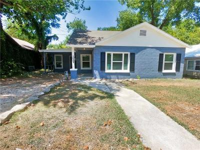 Stephenville Single Family Home For Sale: 1029 W Green Street