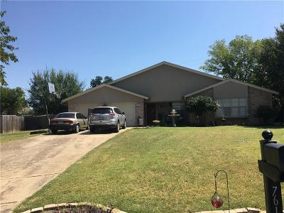Dallas County, Denton County, Collin County, Cooke County, Grayson County, Jack County, Johnson County, Palo Pinto County, Parker County, Tarrant County, Wise County Single Family Home For Sale: 7613 Fox River Court