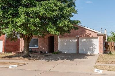 Single Family Home For Sale: 1316 Stetson Trail