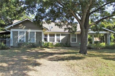 Stephenville Single Family Home Active Option Contract: 690 S Lillian Street