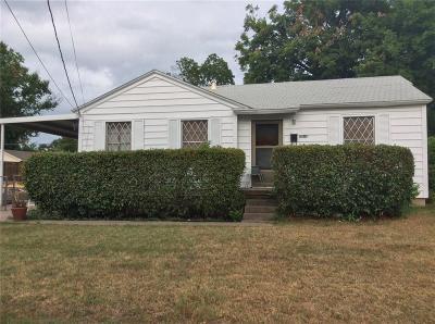 Dallas Single Family Home For Sale: 6914 Prosper Street