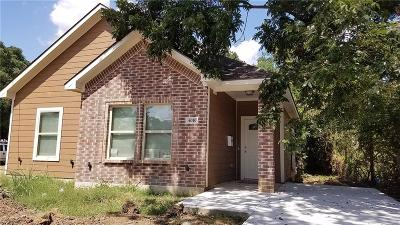 Dallas Single Family Home For Sale: 4010 Spence Street