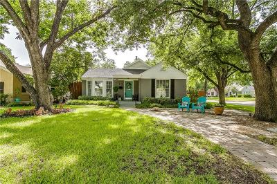 Tarrant County Single Family Home For Sale: 2321 Ashland Avenue