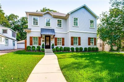 Dallas County Single Family Home Active Option Contract: 7207 Casa Loma Avenue