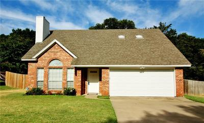 Weatherford Single Family Home For Sale: 217 Camelot Drive