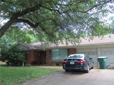 Fort Worth Single Family Home For Sale: 5913 Wonder Drive