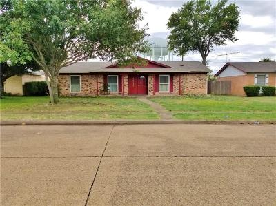 Garland TX Single Family Home For Sale: $175,000