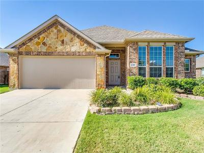 Waxahachie Single Family Home Active Option Contract: 126 Sumac Drive