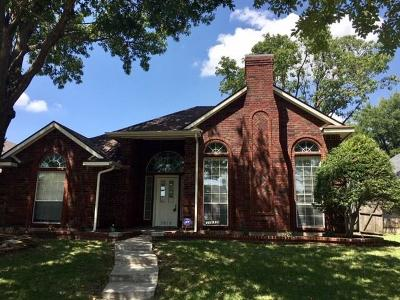 Frisco Residential Lease For Lease: 7919 Squire Lane