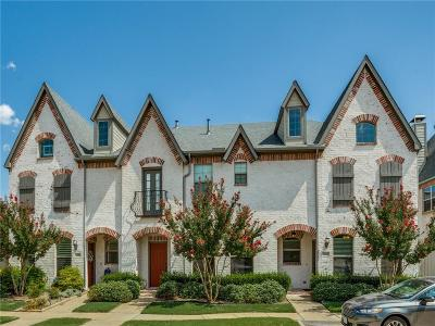 McKinney Townhouse For Sale: 1809 Cortez Lane