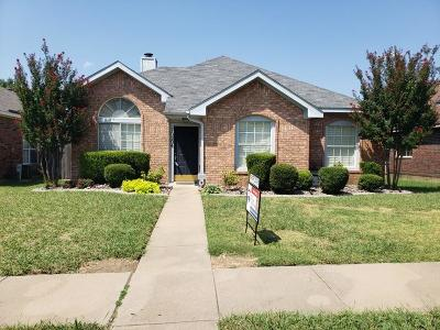 Frisco Residential Lease For Lease: 10204 Concord Drive