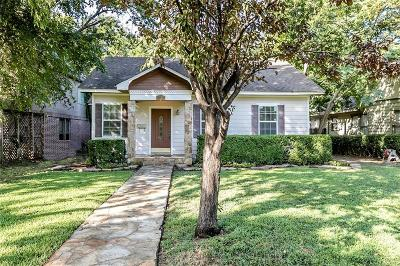 Dallas, Addison Single Family Home For Sale: 2619 Madera Street