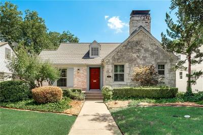 Dallas County Single Family Home For Sale: 6030 Morningside Avenue