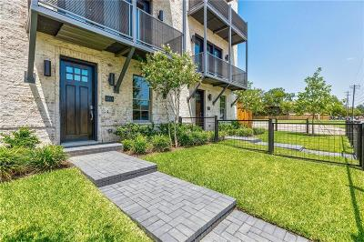 Dallas Townhouse For Sale: 2847 Shelby Avenue