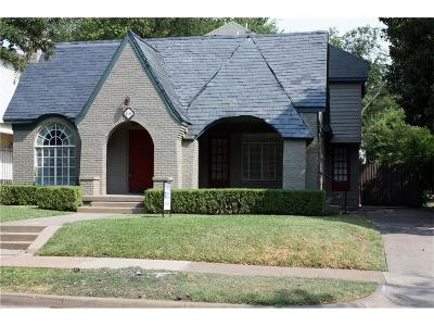 Dallas County, Collin County, Rockwall County, Ellis County, Tarrant County, Denton County, Grayson County Single Family Home For Sale: 4028 Purdue Avenue