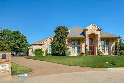Tarrant County Single Family Home For Sale: 6457 Elm Crest Court