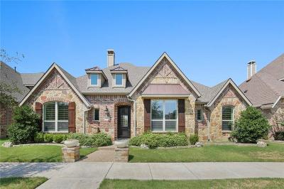 Lewisville Single Family Home For Sale: 624 Four Stones Boulevard