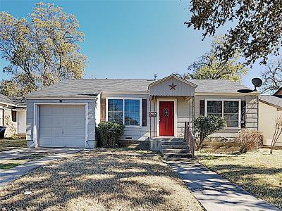 Fort Worth Residential Lease For Lease: 3229 Stanley Avenue