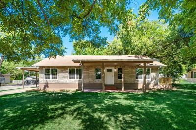 Terrell Single Family Home Active Option Contract: 1201 N Rockwall Avenue