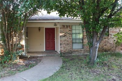 Fort Worth Residential Lease For Lease: 5837 Springtide Drive