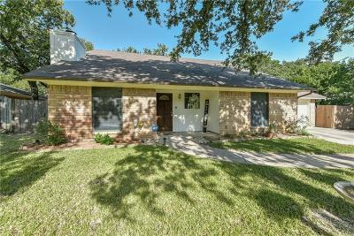 North Richland Hills Single Family Home For Sale: 7621 Hightower Drive