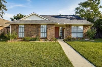 The Colony Single Family Home Active Option Contract: 4132 Driscoll Drive