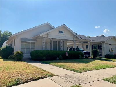 Fort Worth Single Family Home For Sale: 1701 Clover Lane
