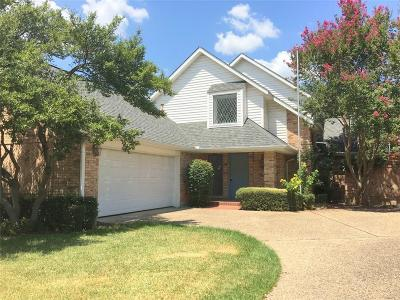 Dallas County Single Family Home For Sale: 16033 Chalfont Circle