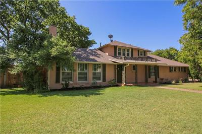Fort Worth Single Family Home For Sale: 2701 Blue Mound Road W