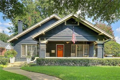 Tarrant County Single Family Home For Sale: 1841 Hillcrest Street