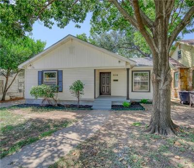 Fort Worth Single Family Home For Sale: 2728 Westbrook Avenue