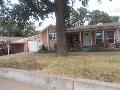 Irving Single Family Home For Sale: 1300 Rustic Drive